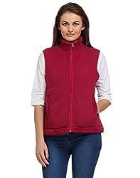 Aspasia Women Polyester Jacket (AJ002_L_Multi-color_Multi-color_Large)