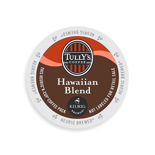 Tully's Coffee K-Cups, Hawaiian Blend, 96 Count (Hawaiian Coffee Kona compare prices)