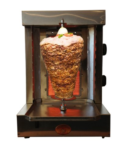 Spinning Grillers 5 In 1-Shawarma Machine-Gyro Machine-Donar Kebab Machine-Tacos Al Pastor Machine -Backyard Vertical Rotisserie And Kebab Grill