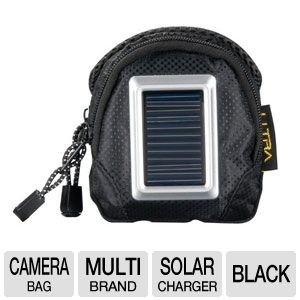 Ultra SoleX Camera Bag w/ Built-In Solar Charger