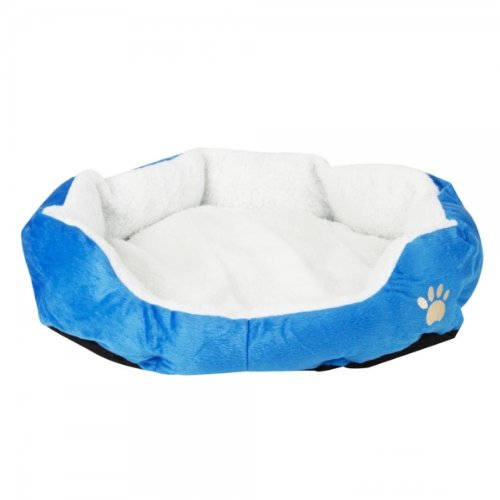 Cotton Pet Warm Waterloo With Pad Sky Blue M Size 15001755 front-700788