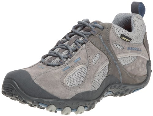 Merrell Womens Cham Arc Wind Gtx Casual Lace Ups Pewter J87866 6 UK