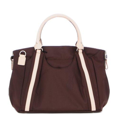 Danzo Diaper Hobo Bag, Chocolate Brown front-260996
