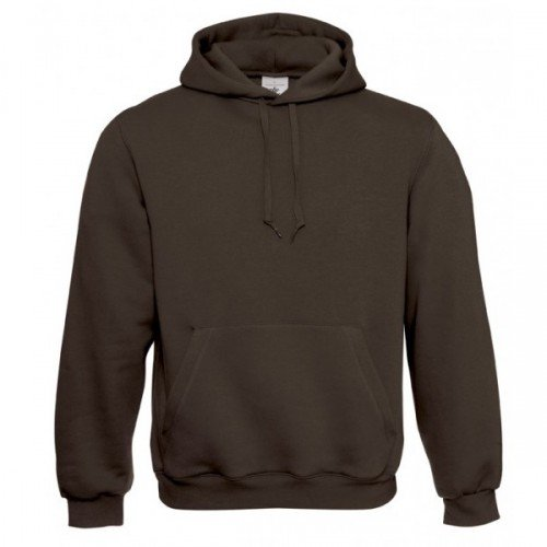 B&C Mens Hooded Sweatshirt / Mens Sweatshirts & Hoodies (L) (Brown)
