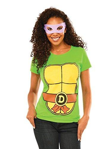 Rubie's Costume Teenage Mutant Ninja Turtles Top With Mask, S to XL