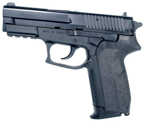 Sig Sauer SoftAir SP2022 Spring Powered Pistol, Black