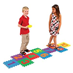 Ryan's Room Hopscotch Foam Mat from Small World Toys