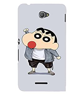 EPICCASE Ching Shang Mobile Back Case Cover For Sony Xperia E4 (Designer Case)