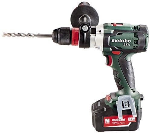 metabo sb18ltx bl 18v 1 2 inch brushless hammer drill kit. Black Bedroom Furniture Sets. Home Design Ideas