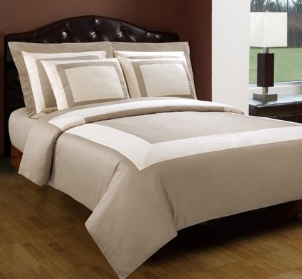 Hotel Duvet Cover Set 5 PC 100% Egyptian Cotton