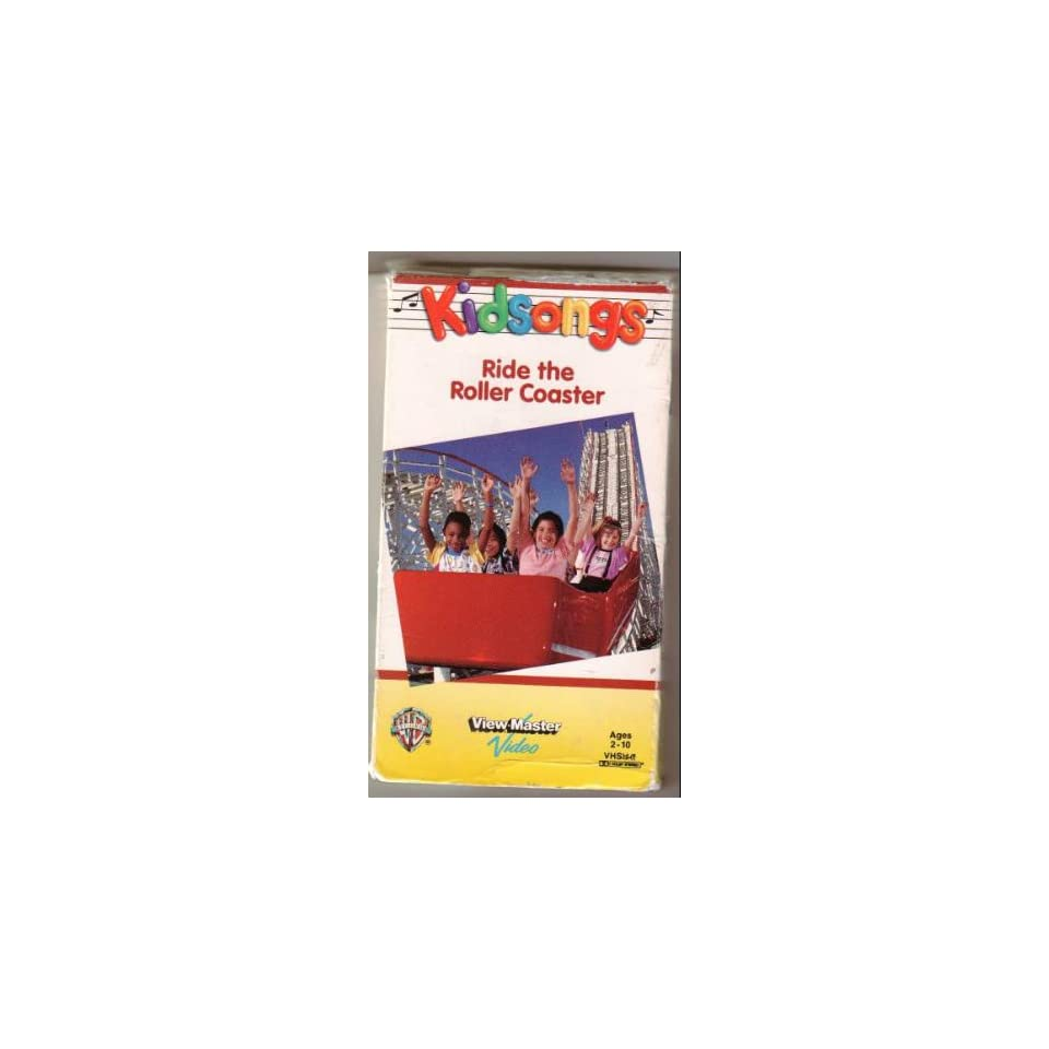 Kidsongs Ride The Roller Coaster 9785551535416 Vhs On Popscreen