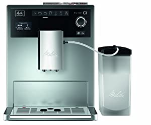 Melitta E 970-101 silber Kaffeevollautomat Caffeo CI -One-Touch-Funktion -LCD-Display -Milchbehälter