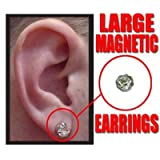Magnetic Earrings - Large Size - Pack of 12