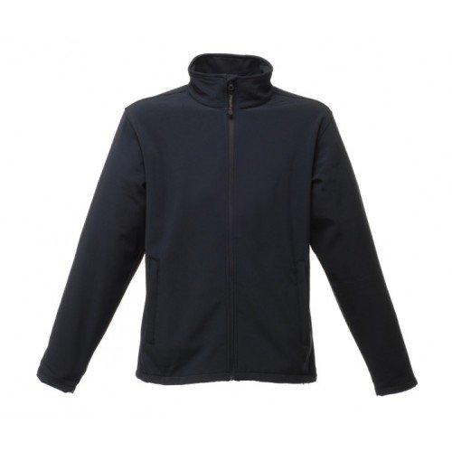 Regatta RG089 Warm Backed Woven Stretch Men's Reid Softshell Jacket, Small, Navy