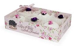 Rose And Co Patisserie De Bain Rose & Violet Coco Butter Bath Fondants 6 x 15g