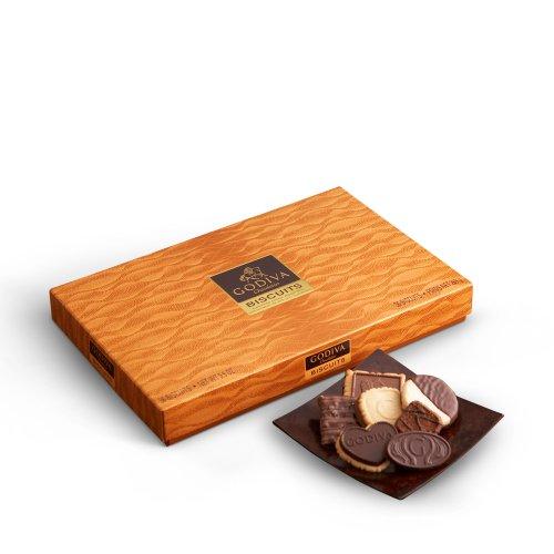 GODIVA Chocolatier Biscuit Gift Box 36 Pieces