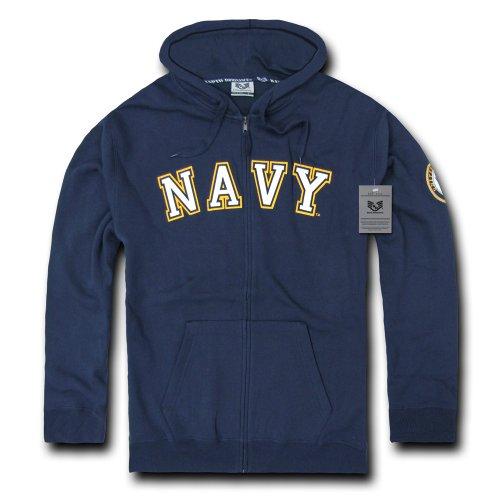 Rapiddominance US Navy Full Zip Hoodie, X-Large (United States Navy Sweatshirt compare prices)