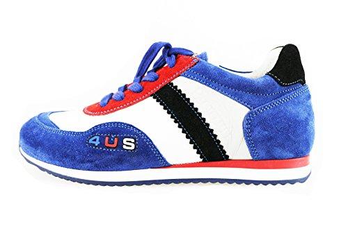 CESARE PACIOTTI sneakers bambino multicolor camoscio tessuto AH946 (32 EU)