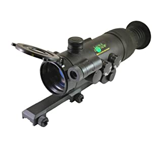 Buy Luna Optics LN-PRS40M Premium Night Vision Generation-1 4x Magnification Riflescope with Weaver... by Luna Bar