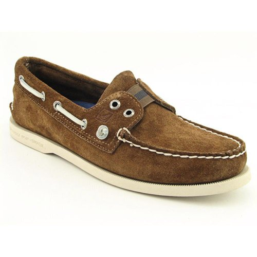 MENS SPERRY TOP-SIDER AUTHENTIC ORIGINAL 2 EYE BOAT SHOES TAN 7.5 M