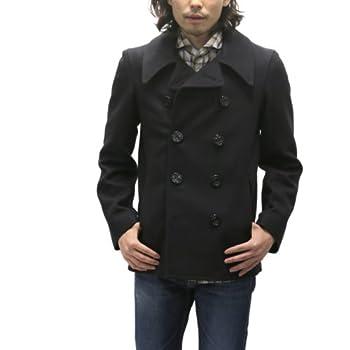 (グローバーオール)Gloveral Pコート Reefer Jacket (34(日本M相当), ネイビー(黒に近い))