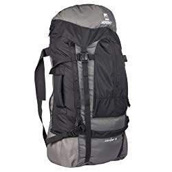 Wildcraft Zanskar Black Casual Backpack (8903338314103)
