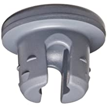 Wheaton 224100-192 Rubber 20mm Stopper with 2-Leg Lyophilization, Gray Chlorobutyl-Isoprene blend/50 (Case of 1000)