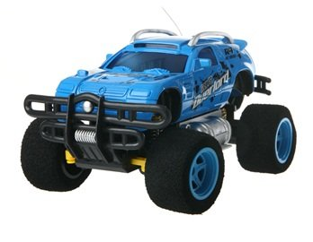 4-Channel Graffiti Remote Control SUV Car (Blue) + Worldwide free shiping