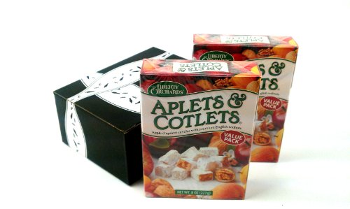 Liberty Orchards Aplets & Cotlets, 8 oz Boxes