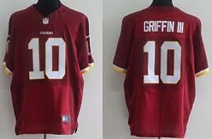 Robert Griffin III Jersey Washington Redskins Red Elite Jersey (52(XXL))