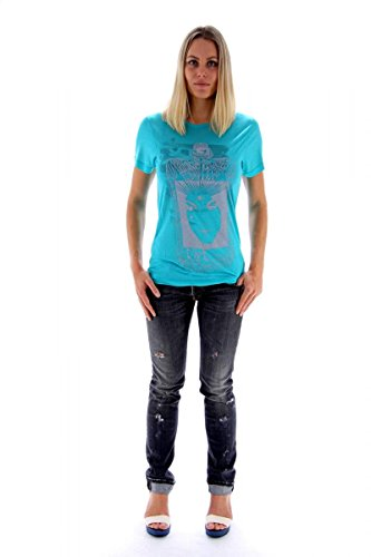 C'N' C CoSTUME NATIONAL Damen Long-camicia turchese XL