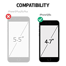 iPhone 6S Case, OBLIQ [Naked Shield][Clear][Metal Kickstand] Thin Slim Fit Crystal Clear Case + TPU Bumper Armor Scratch Resist Protection for Apple iPhone 6S(2015) & iPhone 6(2014)