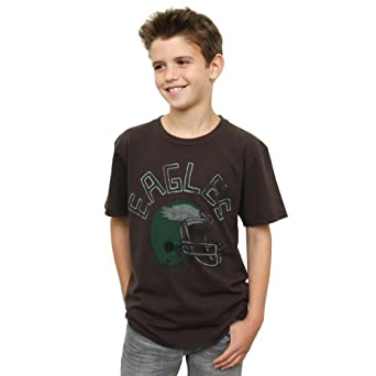 NFL Philadelphia Eagles Youth Kickoff Crew T-Shirt, X-Small by Junk Food
