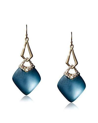 Alexis Bittar Encrusted Infinity Link Wire Earrings