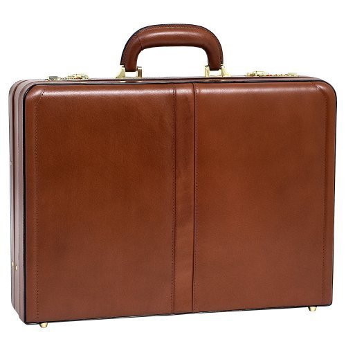 McKleinUSA HARPER 80474 Leather Expandable Attache Case