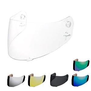 Icon Helmet Standard Shield - Fog Free - Blue 0130-0386
