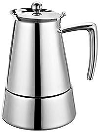 Cuisinox Barista 6 Cup Espresso Coffeemaker, Silver