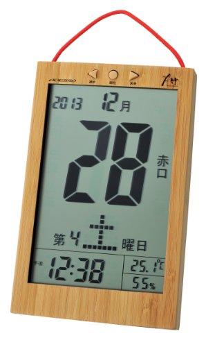 日めくりタイプ電波時計