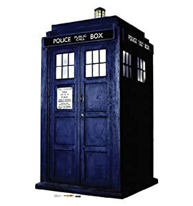 Doctor Who Life-size Stand-up Cutout- Tardis