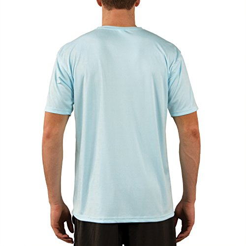 Vapor Apparel Men's UPF 50+ UV (Sun) Protection Performance Short Sleeve T-Shirt Small Arctic Blue