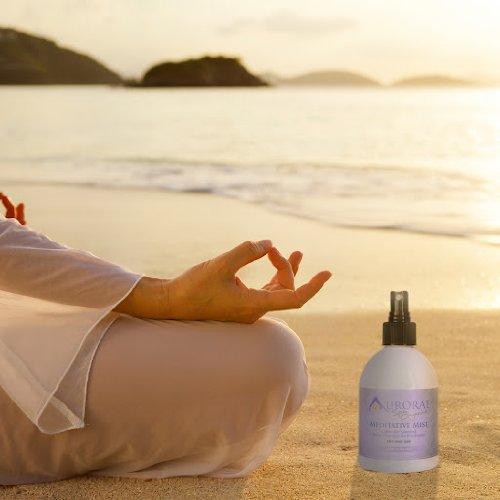 Aurorae Spa Organic Lavender Yoga Meditative Mist Aromatherapy Spray