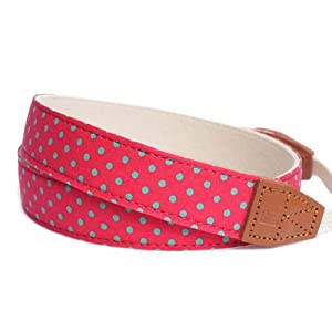 Ciesta CSS-F25-025 Fabric Camera Strap (Juicy Pop Pink) for Toy Camera DSLR Mirrorless Camera