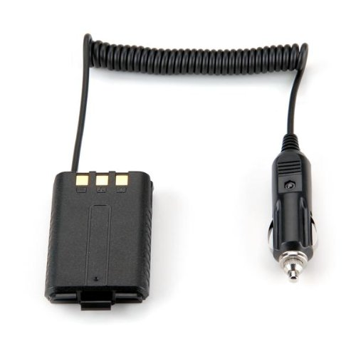 SODIAL (R) Eliminator batteria auto per BAOFENG UV-5R dual band radio