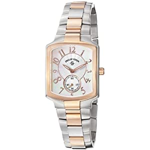 Philip Stein Women's 21TRG-FW-SSTRG Classic Two-Tone Rose Gold Plated Two-Tone Rose Gold Bracelet Watch