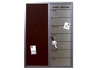 Pt pt008 week planner lavagna magnetica verticale box32 for Cucina planner