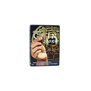 Easy Coin Magic DVD - You Can Be a Stunning Coin Illusionist.