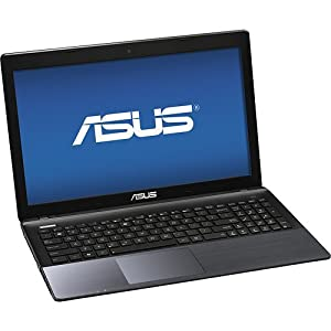 Asus K55A-SI50301P Laptop Computer / 15.6-inch Display Screen / Intel® 3rd Generation CoreTM i5-3230M Dual-core 2.6GHz Processor / 4GB DDR3 SDRAM / 500GB Hard Drive / DVD±RW/CD-RW / Webcam / USB 3.0 / HDMI / 6-cell Battery / Windows 8 / Light Covellite (Gray)