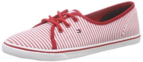 Tommy Hilfiger S1285M-KESHA 11D1, Damen Sneakers, Rot (TANGO RED 611), 41 EU thumbnail