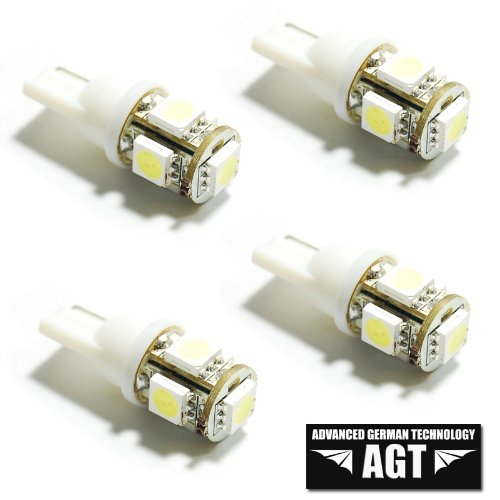 AGT Brand 4x 194 168 5-SMD White High Power LED