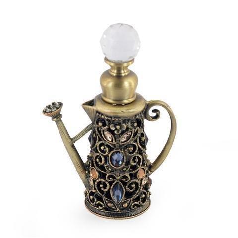 Bouteille de parfum en métal 8cm
